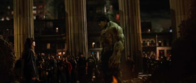 betty and hulk in The Incredible Hulk