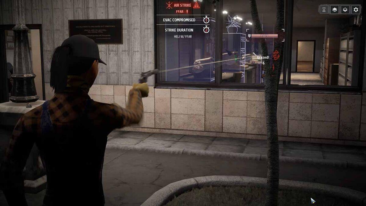 Pistol shot vs enemy grazed in Phantom Doctrine review