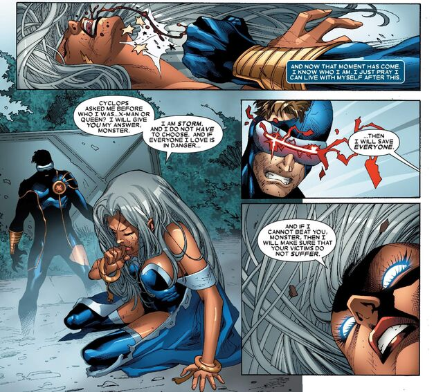 X-Men Worlds Apart Cyclops vs Storm 003