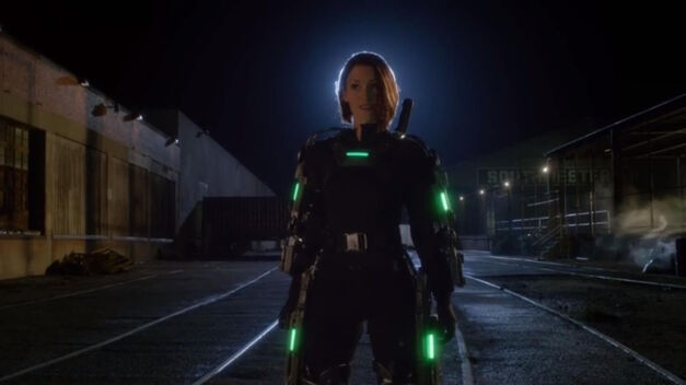 Alex Danvers Kryptonite Armor