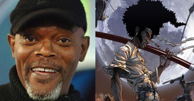 Samuel L. Jackson Afro Samurai