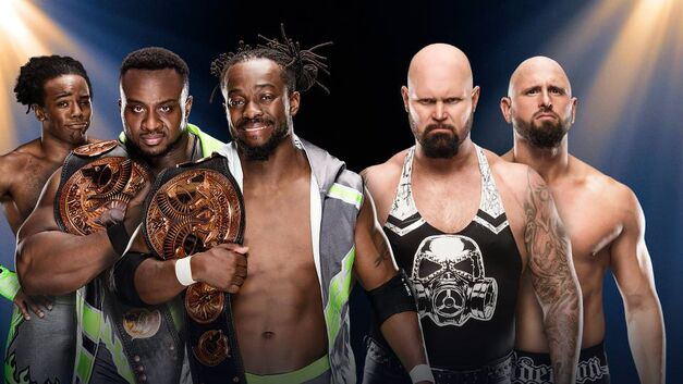 The New Day and Anderson and Gallows face off at WWE Clash of Champions