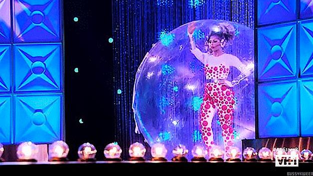 Drag Race All Stars 3 Shangela in a bubble