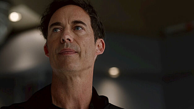 Harrison Wells played by Tom Cavanagh in Arrowverse show The Flash