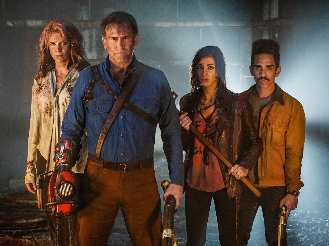 ash vs evil dead - season two cast