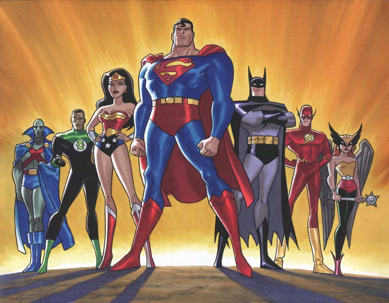 Justice League animated series image