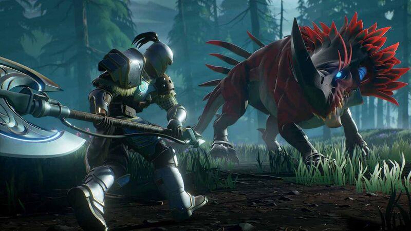 Dauntless Embermane behemoth monster hunt