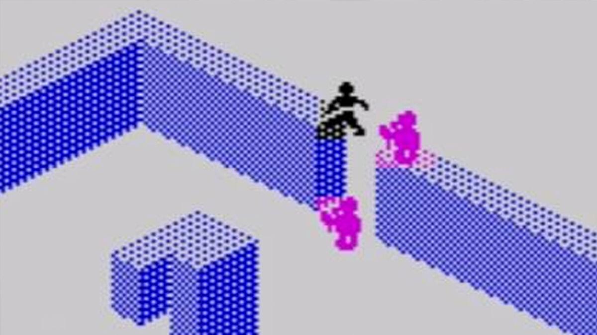 Quicksilva's Zombie Zombie on the ZX Spectrum