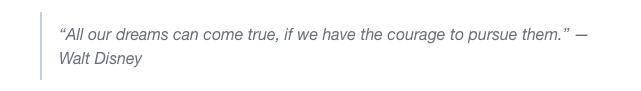 walt disney quote screenshot