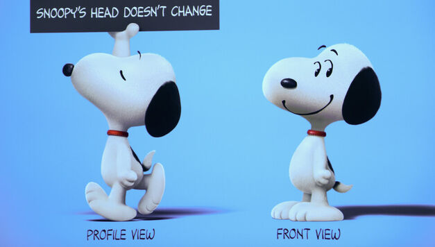 Snoopy Head Peanuts Movie