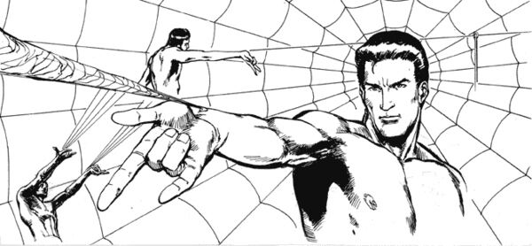 james cameron spider man peter parker web storyboard