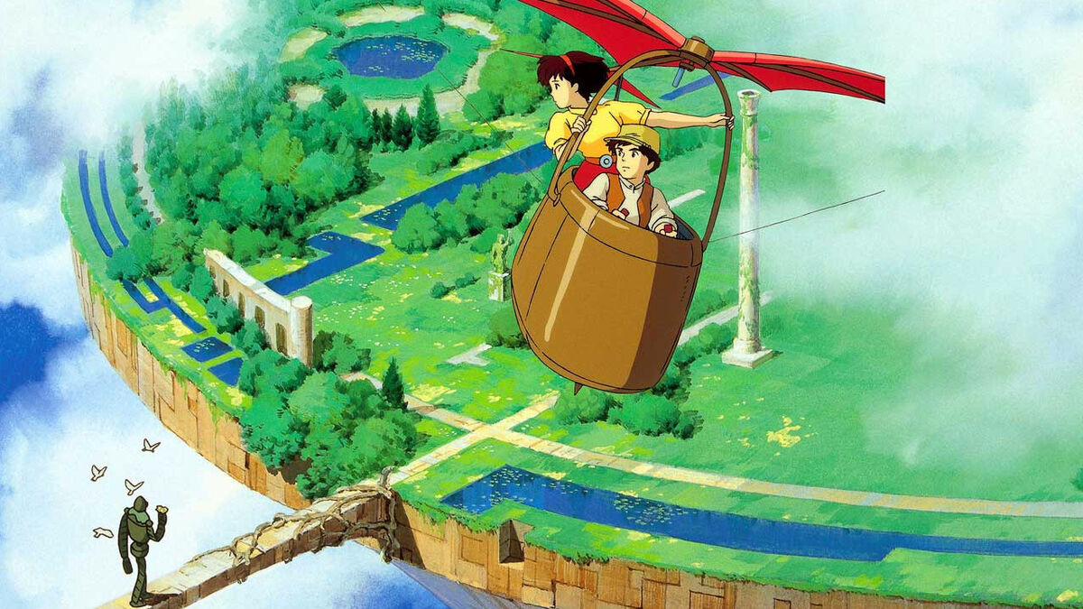 Sheeta and Pazu, Castle in the Sky