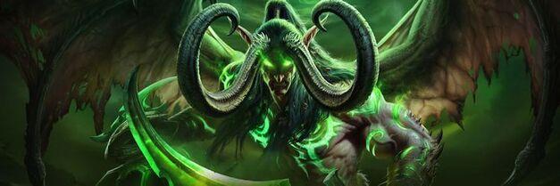 IIllidan Stormrage World of Warcraft legion