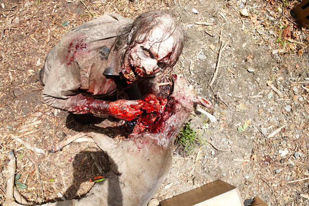 walking dead zombie gore greg nicotero