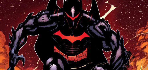 Batman in Hellbat armor