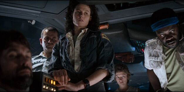 ridley scott film alien sigourney weaver
