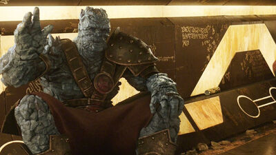 Why Korg Will Be Your New Favourite Marvel Character