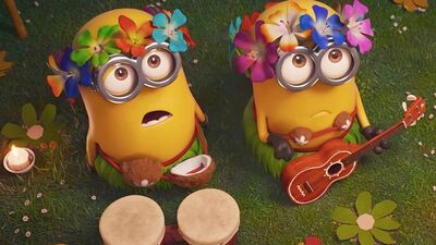 'Despicable Me 3' Stars Steve Carell & Kristen Wiig Quiz Each Other in Minionese