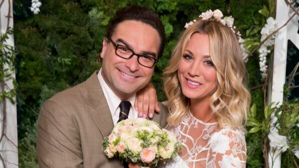 big bang theory leonard and penny in vow renewal ceremony