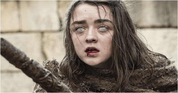 blind arya stark game of thrones