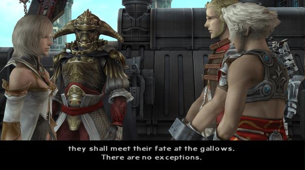 Final Fantasy XII Cutscene