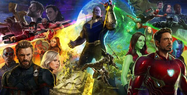 Avengers Infinity War LA Comic Con