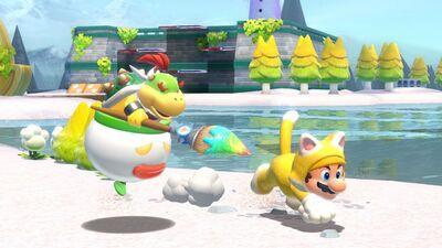 Super Mario 3D Worlds + Bowser's Fury