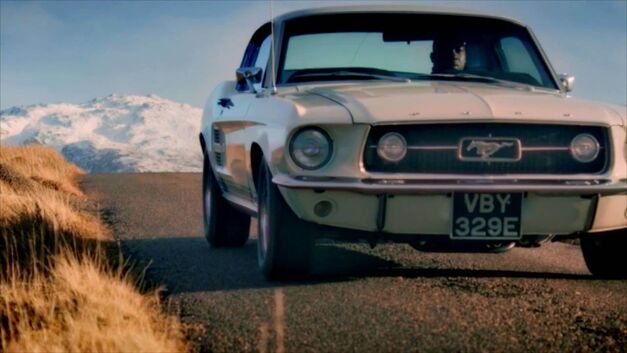 Top Gear Ford Mustang