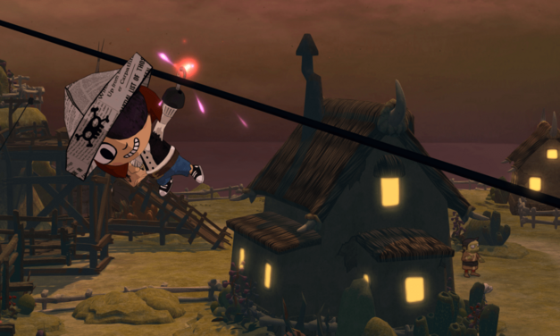 A screenshot of Costume Quest for PC.