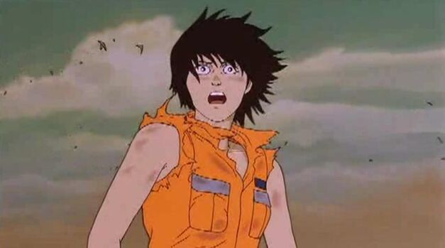 Kei from Akira looking shocked