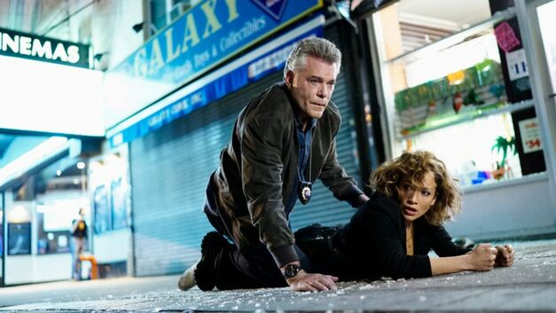 Jennifer Lopez and Ray Liotta in 'Shades of Blue'