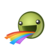 Rainbow emote