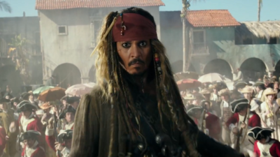 What It's Like Working With Johnny Depp on the 'Pirates of the Caribbean' Films