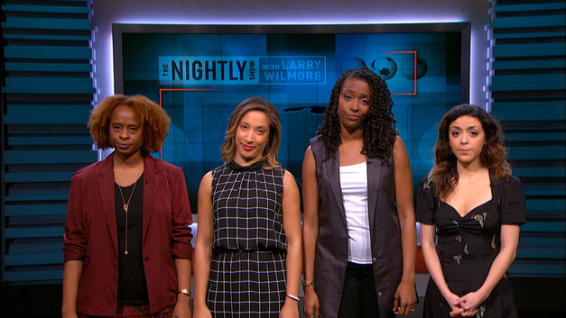 the nightly show female contributors