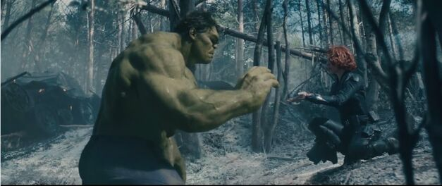 black widow and hulk