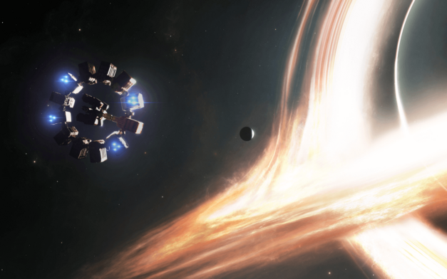 interstellar space black hole