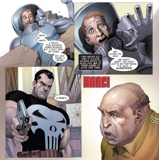 Punisher kills Stilt-Man