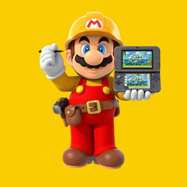 Super Mario Maker for 3DS Image
