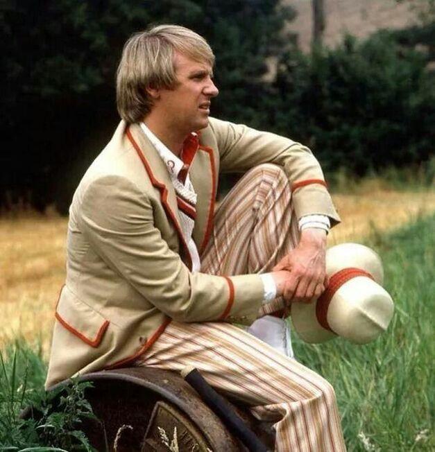 Doctor Who-Peter Davison