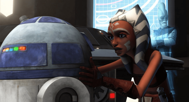 "Star Wars: The Clone Wars, ""R2 Come Home"": R2-D2 and Ahsoka Tano"