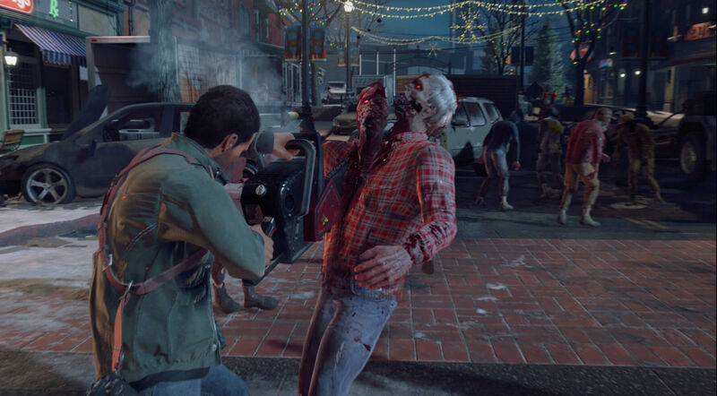 Dead Rising 4 Chainsaw Split