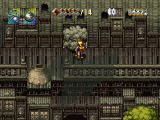 A screenshot of Alundra.