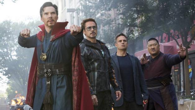 Avengers Infinity War Doctor Strange Tony Stark Bruce Banner Wong