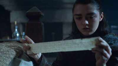 Why Sansa's Letter Could Drive the Stark Girls Apart on 'Game of Thrones'