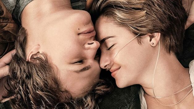book-to-move adaptations the fault in our stars Shailene Woodley and Ansel Elgort