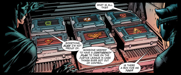 Batman Forever Evil Contingency Plans