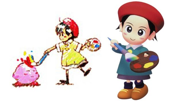 Kirby Star Allies Adeleine