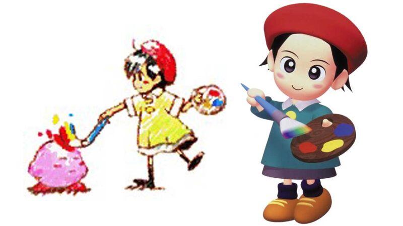 Kirby Star Allies Adeleine
