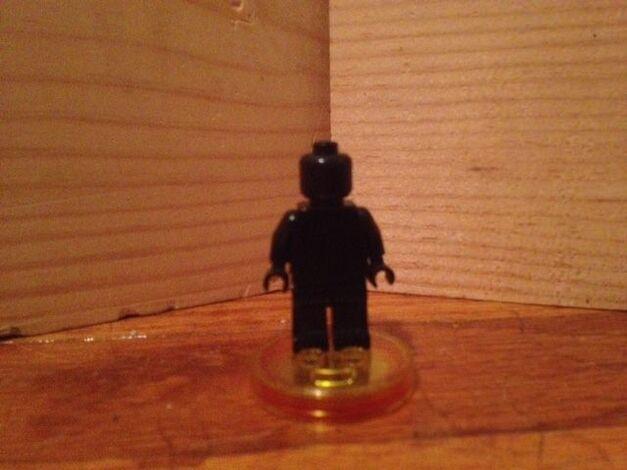 blank LEGO figure