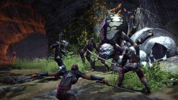 Elder Scrolls Online Spider Boss